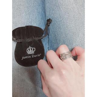ジャスティンデイビス(Justin Davis)のJustin Davis リング 8.5号 美品!(リング(指輪))