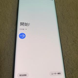 Galaxy - GALAXY note10plus SIMフリー おサイフ機能付き