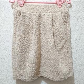 Avail - 美品 もこもこ プードル タイト スカート♥しまむら GU
