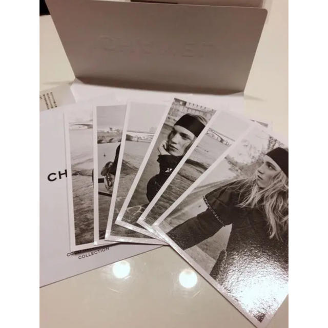 CHANEL(シャネル)のCHANEL ポストカード 6枚 インテリア プレゼント シャネル インテリア/住まい/日用品のインテリア小物(その他)の商品写真