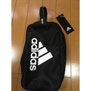 adidas - adidas アディダス シューズケース シューズバッグ ブラック 黒