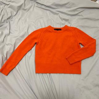 マークバイマークジェイコブス(MARC BY MARC JACOBS)のマークジェイコブス オレンジ ニット(ニット/セーター)