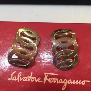 サルヴァトーレフェラガモ(Salvatore Ferragamo)のフェラガモ イヤリング ヴィンテージ ゴールド(イヤリング)