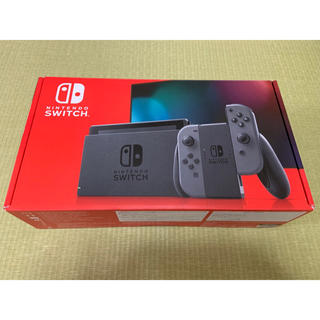 Nintendo Switch - 新型スイッチ グレー 本体 中古 任天堂 switch