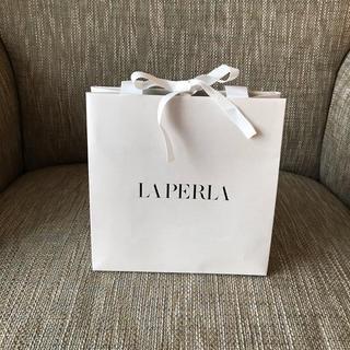 ラペルラ(LA PERLA)のラペルラ  LAPERLA  ショッパー(ショップ袋)