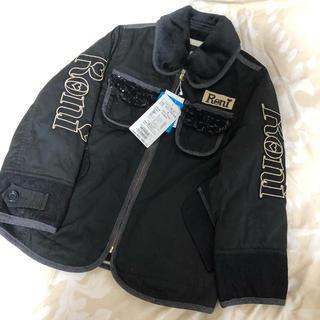 ロニィ(RONI)の新品 RONI 黒 ジャケット 裏ボア(ジャケット/上着)