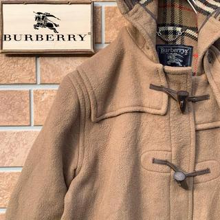 バーバリー(BURBERRY)の【超激レア!!】90s イングランド製 バーバリー ノバチェック ダッフルコート(ダッフルコート)
