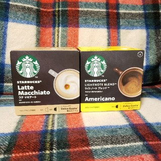 スターバックスコーヒー(Starbucks Coffee)のドルチェグスト スターバックス二箱分(コーヒー)