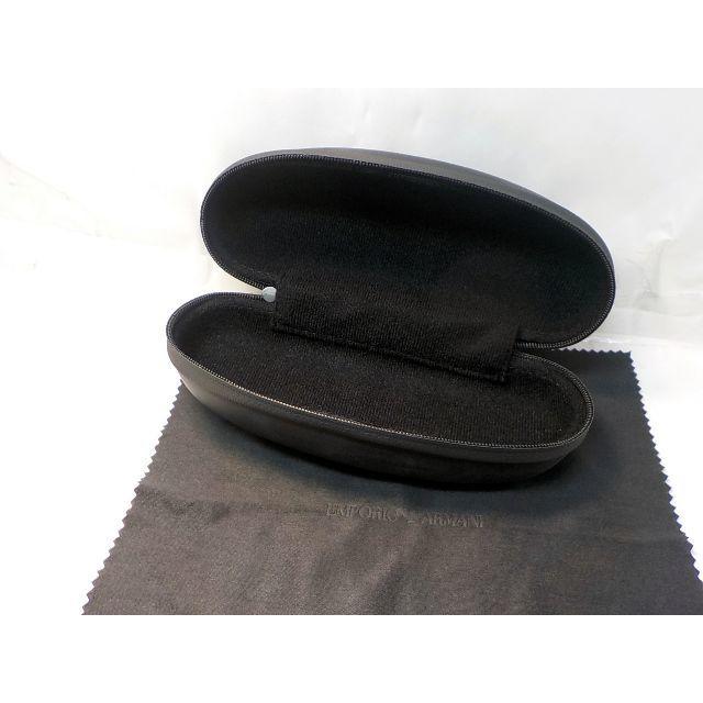 Emporio Armani(エンポリオアルマーニ)のエンポリオアルマーニ EMPRORIO ARUMANI メガネケース ブラック メンズのファッション小物(サングラス/メガネ)の商品写真