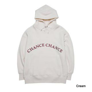 CHANCE CHANCE ホワイト トレーナー