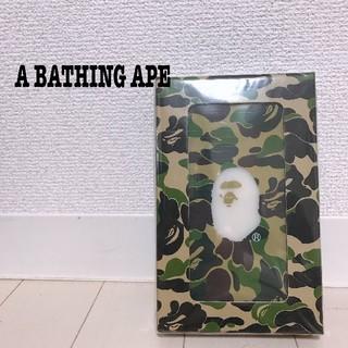 アベイシングエイプ(A BATHING APE)のABC CAMO POWER BANK 10000mah(バッテリー/充電器)