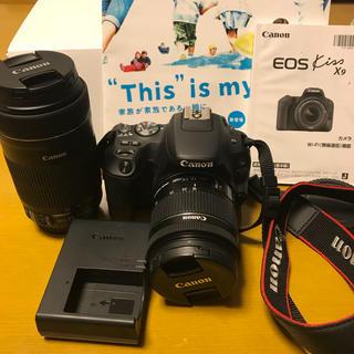 Canon - 【小型・軽量】Canon EOS Kiss x9ダブルズームキット 一眼