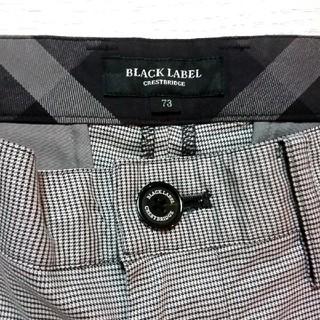 BURBERRY BLACK LABEL - 🖤人気作デザインパンツ🖤極美品🖤