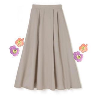 ZARA - 新品♡ グレージュ フレアスカート ロングスカート