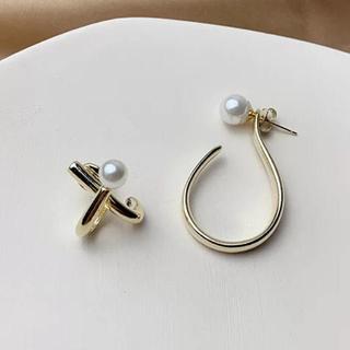 ロキエ(Lochie)のPearl various gold pierce No.265(ピアス)