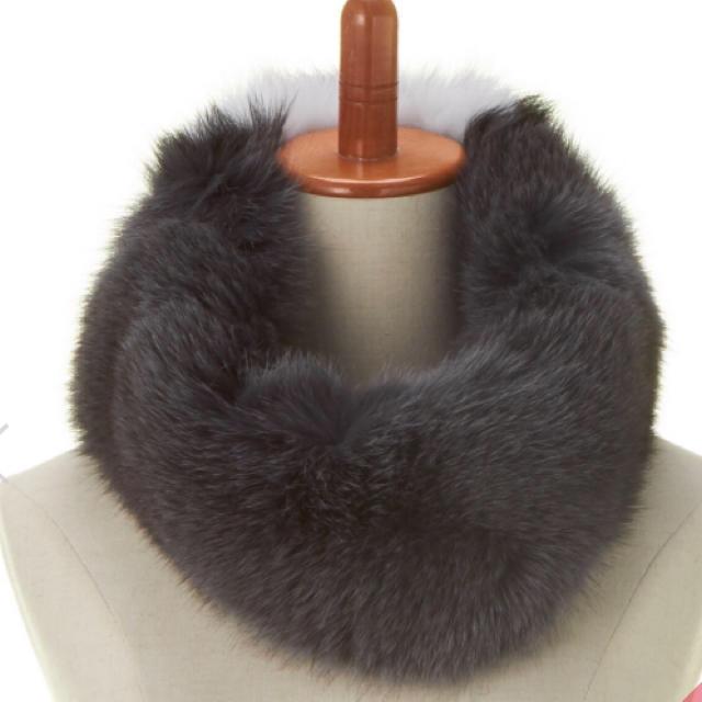 Drawer(ドゥロワー)のThe SECRETCLOSET ザ・シークレットクローゼットファースヌード レディースのファッション小物(スヌード)の商品写真