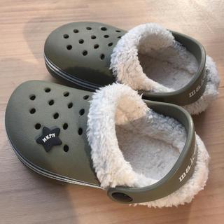 crocs - クロックスマンモス風サンダル 17センチ