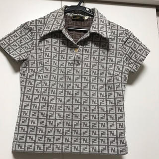 フェンディ(FENDI)のフェンディポロシャツ(シャツ/ブラウス(長袖/七分))