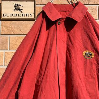 バーバリー(BURBERRY)の【超激レア!!】90s イングランド製 バーバリー ノバチェック スイングトップ(ブルゾン)