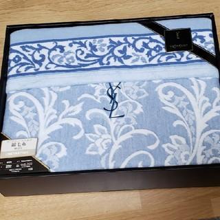 イヴサンローランボーテ(Yves Saint Laurent Beaute)のイヴ・サンローラン 綿毛布(毛布)