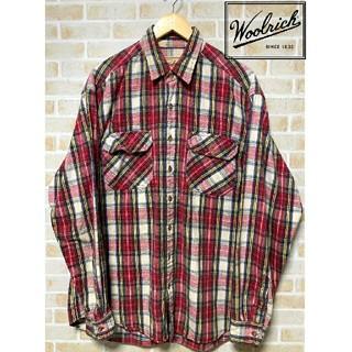 ウールリッチ(WOOLRICH)の【古着】90年代 ウールリッチ WOOLRICH チェック柄 ネルシャツ(シャツ)