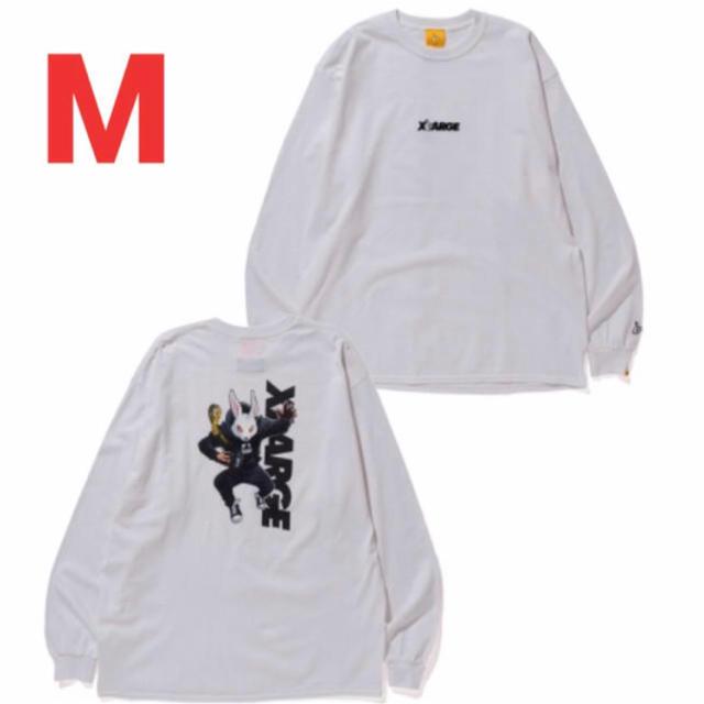 XLARGE(エクストララージ)のMoon Chaser L/S Tee【XLARGE×#FR2】 メンズのトップス(Tシャツ/カットソー(七分/長袖))の商品写真