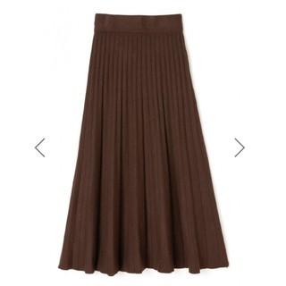 GRL - グレイル ニットプリーツスカート