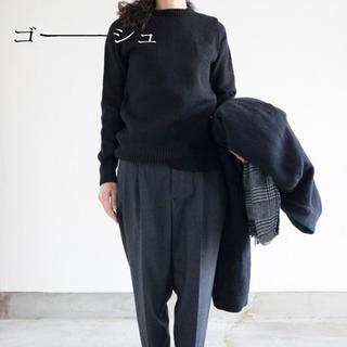 YAECA - 新品 ゴーシュ✨ハイランドウール ニット ポケット クルーネック セーター
