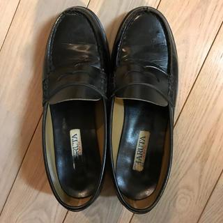 ハルタ(HARUTA)の【bunbunzudesu 様専用】ハルタ ローファー 25cm 黒(ローファー/革靴)