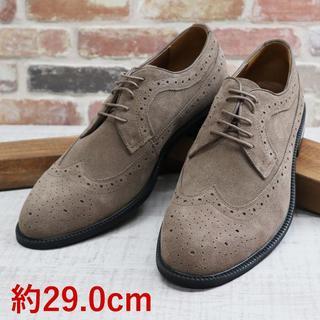 オックスフォードシューズ メンズ ウィングチップ 紳士靴 おしゃれ 約29cm(ドレス/ビジネス)