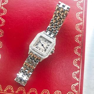 Cartier - 美品✨カルティエ Cartier パンテール SM二重ダイヤモンドベゼル