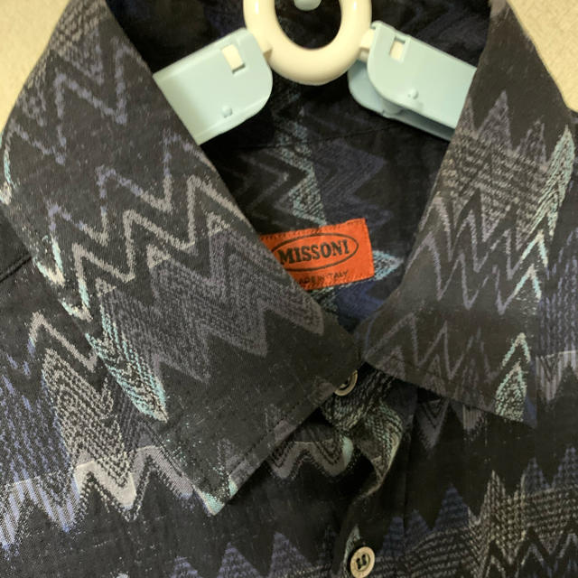 DRIES VAN NOTEN(ドリスヴァンノッテン)のmissoni 総柄 シャツ ジグザグ メンズのトップス(シャツ)の商品写真