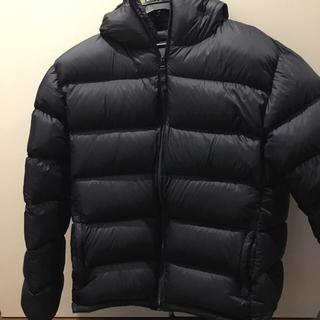 ムジルシリョウヒン(MUJI (無印良品))の無印良品 フードダウンジャケット 紺 XL(ダウンジャケット)