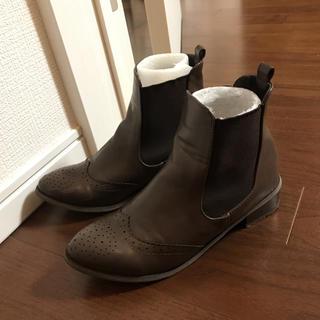 サイドゴアブーツ(ブーツ)