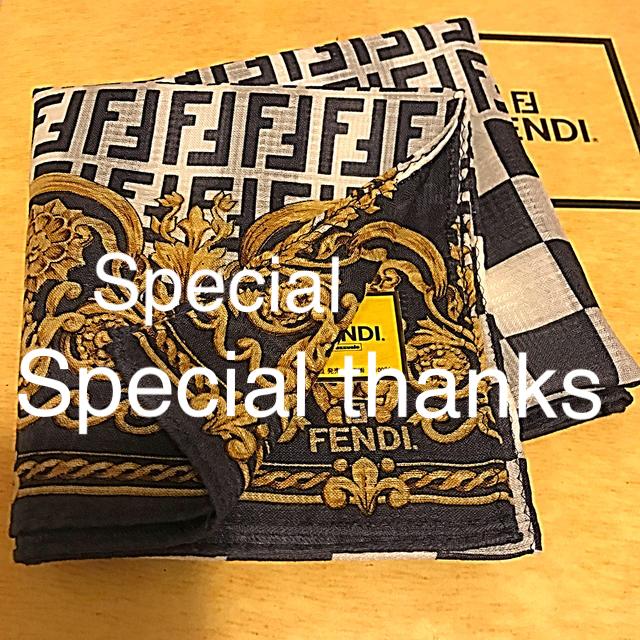 FENDI(フェンディ)のk-coco様専用☆ レディースのファッション小物(ハンカチ)の商品写真