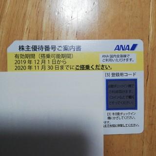 ANA 株式優待(航空券)