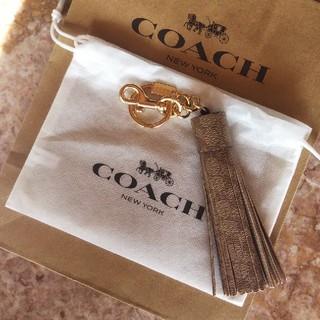 コーチ(COACH)のコーチ COACH シグネチャー タッセル バッグチャーム  キーホルダー (バッグチャーム)