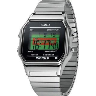 シュプリーム  タイメックス supreme timex シルバー 腕時計