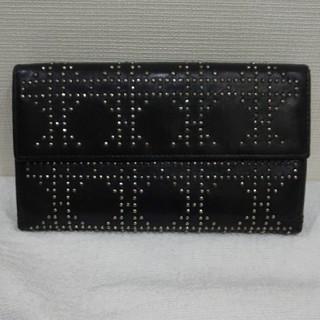 クリスチャンディオール(Christian Dior)のディオール カナージュ スタッズ 長財布(財布)