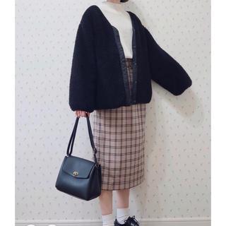 w closet - 新品♡リバーシブルボアジャケット