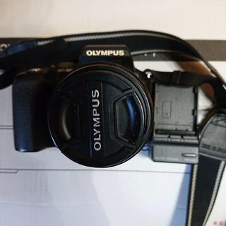 オリンパス(OLYMPUS)のオリンパスOLYMPUS一眼レフE-500レンズキット 中古(デジタル一眼)