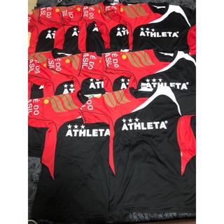 ATHLETA - ATHLETA サッカーユニフォームセット上2〜13 4000円値下げ