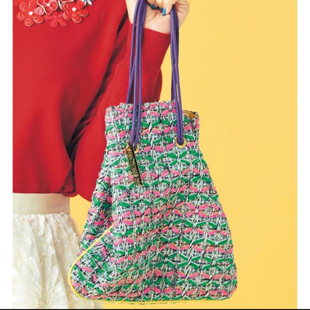 Chesty(チェスティ)のCharmant Sac×Chesty シャルマントサック 巾着バッグ レディースのバッグ(ハンドバッグ)の商品写真