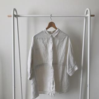 Kastane - kastane リネンビッグシャツ