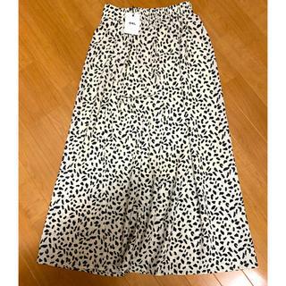 GRL - 新品タグ付き GRL ダルメシアン柄スカート