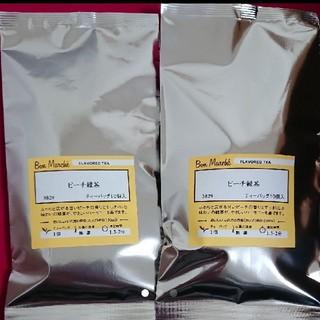 LUPICIA - ルピシア ボンマルシェ ブルーバードティー ピーチ緑茶  ティーバッグ 2個
