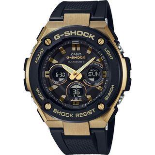 ジーショック(G-SHOCK)の超人気モデル カシオ G-SHOCK GST-W300G-1A9JF (腕時計(デジタル))