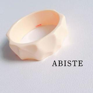アビステ(ABISTE)の美品|ABISTE*シンプルフォルムの太めバングル(ブレスレット/バングル)