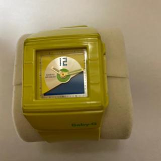 ベビージー(Baby-G)のBaby-G イエローカラー (腕時計)