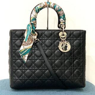 Dior - 美品 クリスチャンディオール レディディオール 2wayバッグ黒